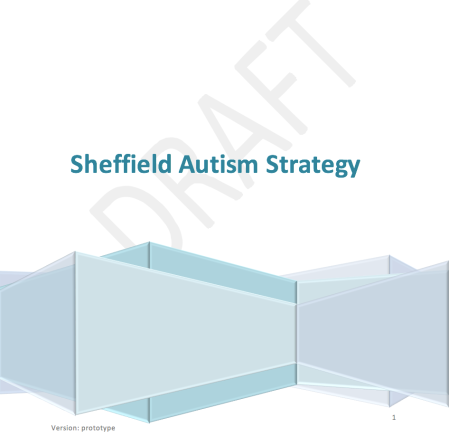 Sheffield Autism Strategy cover image