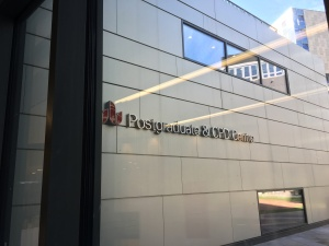 University of Bedfordshire postgraduate centre reception