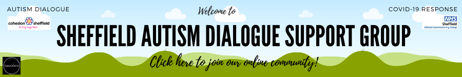 SHEFFIELD AUTISM DIALOGUE SUPPORT GROUP BANNER
