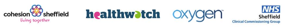 Sheffield Healthwatch Oxygen NHS CCG logos
